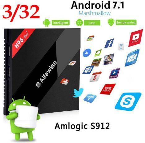 TV-BOX H96 Pro + 3GB/32GB Android 7.1/X96,X92,TX9,Xiaomi,MX10,GT1, фото 2