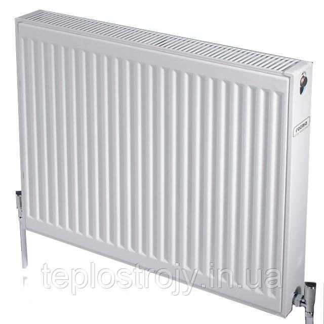Стальной радиатор 22 тип 500х500 ROZMA