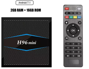 TV Box H96 mini 2GB/16GB Android 7.1 с Wi-Fi X96, X92, A95X,M8S,TX3, фото 2