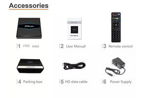 TV Box H96 mini 2GB/16GB Android 7.1 с Wi-Fi X96, X92, A95X,M8S,TX3, фото 3