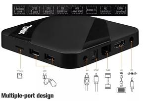 TV Box TANIX TX3 MAX 2GB/16GB Заводской оригинал с ГОЛОГРАММАМИ, фото 3