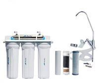 Фильтр для воды под мойку четырёхступенчатый с UV установкой FP-3-UV