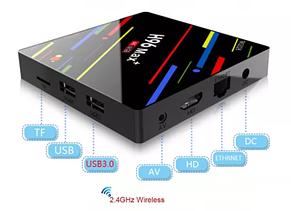 TV Box H96 MAX + VOICE 4GB/32GB Android 8.1/X96,X92,MX10,Xiaomi Mi BOX, фото 3