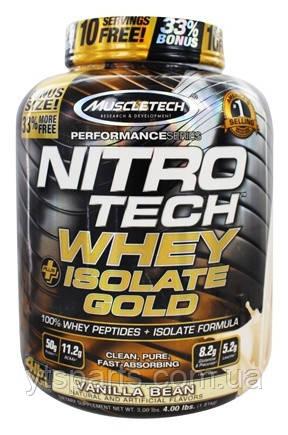 MuscleTech Nitro-Tech Whey Isolate Gold 1.8 kg