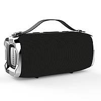 Беспроводная портативная влагозащищенная стерео колонка Hopestar H36 Mini Супер Басы черная