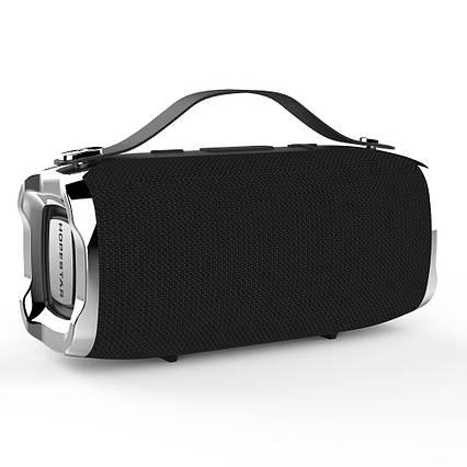 Беспроводная портативная влагозащищенная стерео колонка Hopestar H36 Mini Супер Басы черная, фото 2