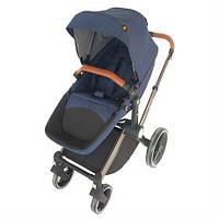 Детская коляска 2 в 1 Welldon синий (WD007-3)