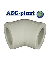 Угол ппр Ø50х45° ASG-Plast (Чехия), фото 1