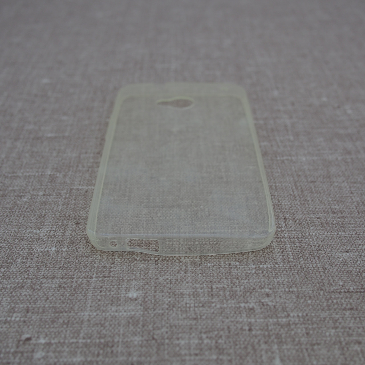 Чехол TPU Ultrathin 0.33mm HTC One M7 soft-clear Для телефона