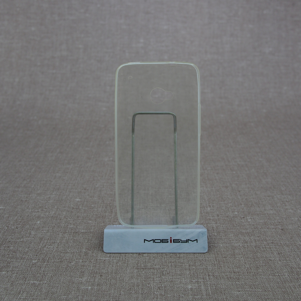 Чехол TPU Ultrathin 0.33mm HTC One M7 soft-clear