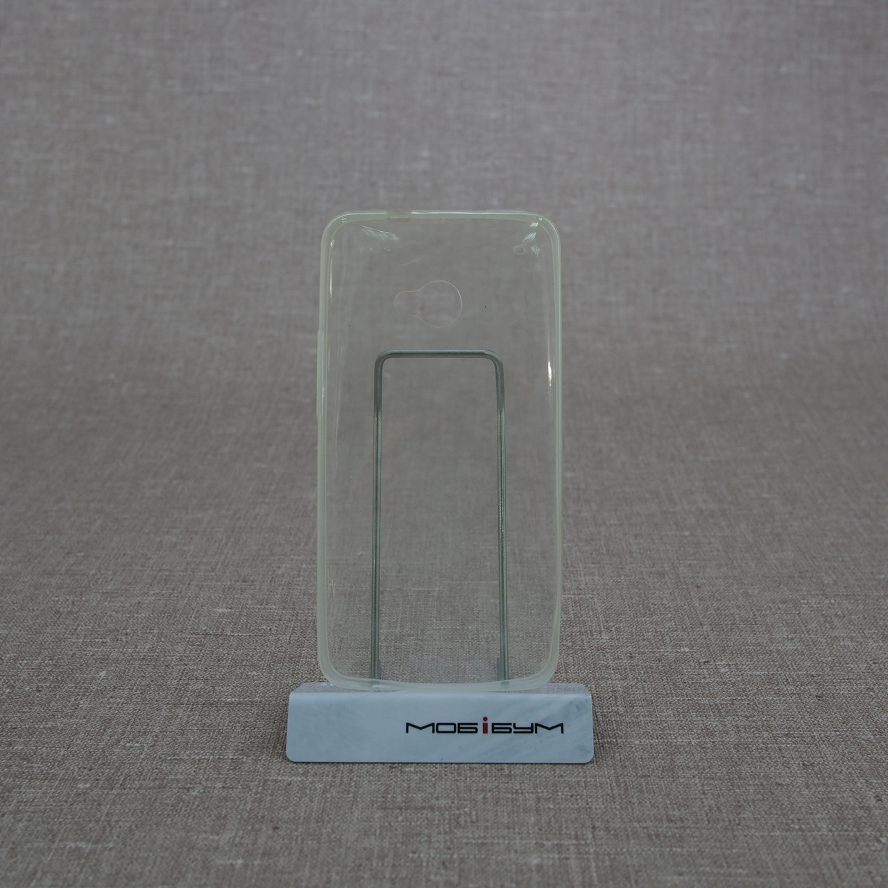 Чехол TPU Ultrathin 0.33mm HTC One/M7 soft-clear