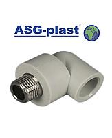 Угол ппр Ø20х3/4 РН ASG-Plast (Чехия)