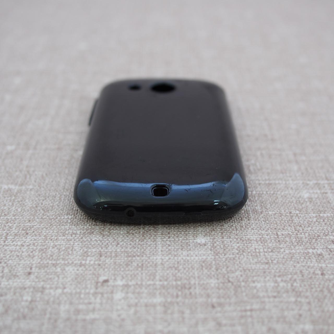 Чехол TPU HTC Desire C black