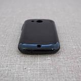 Чехол TPU HTC Desire C black, фото 3