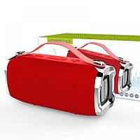 Беспроводная портативная влагозащищенная стерео колонка Hopestar H36 Mini Супер Басы красная