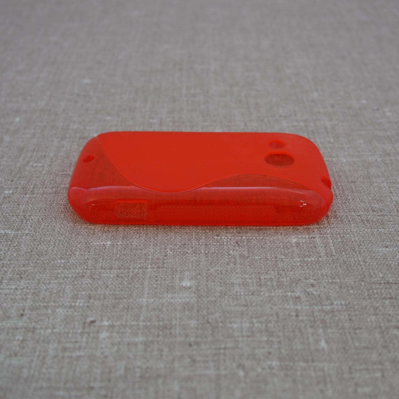 Чехлы для других смартфонов TPU Duotone HTC Desire C red Для телефона