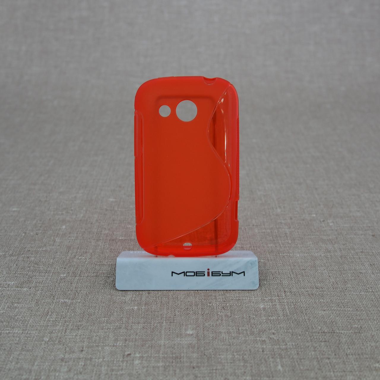 Чехол TPU Duotone HTC Desire C red