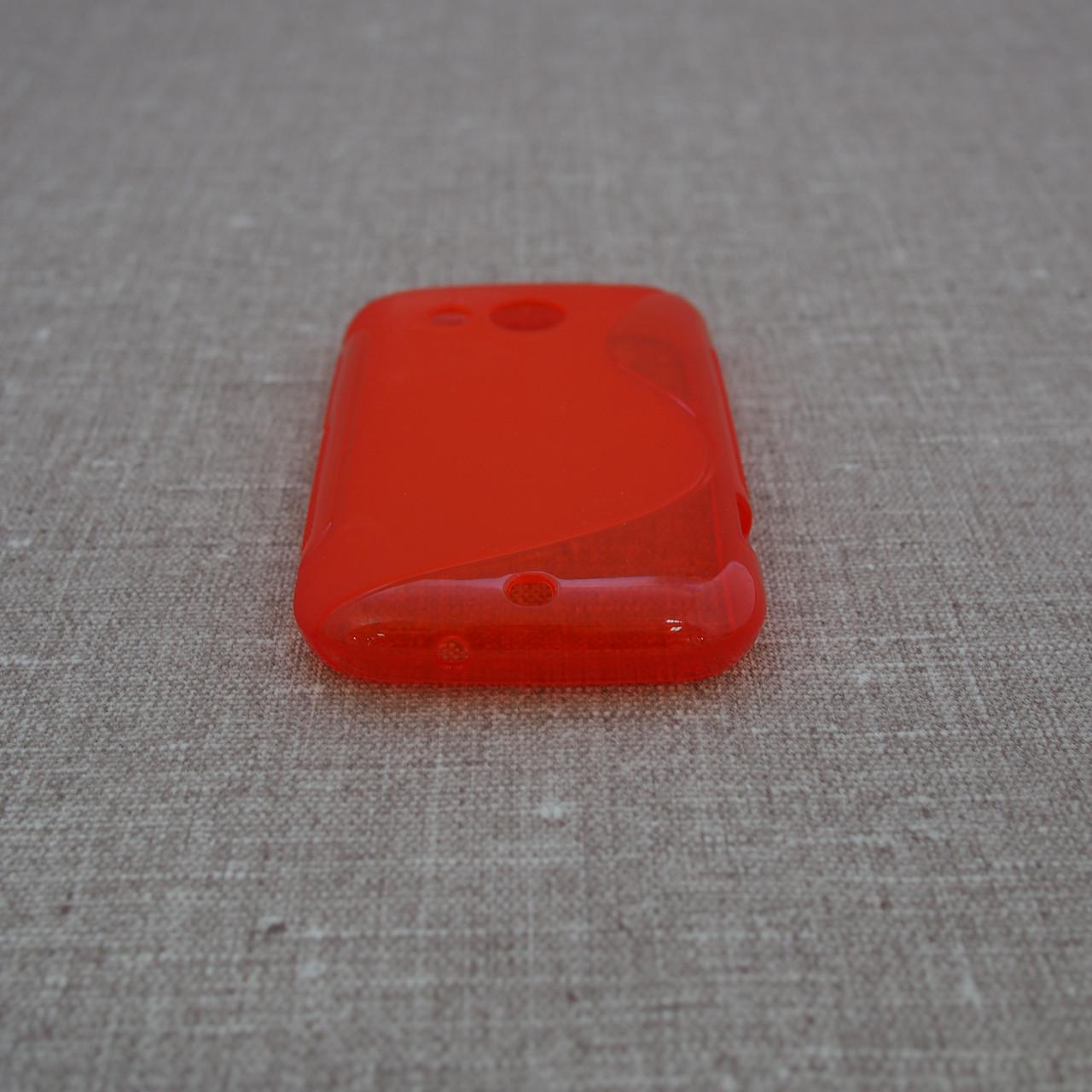 Чехлы для других смартфонов TPU Duotone HTC Desire C red