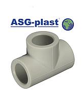 Тройник ппр равный Ø75 ASG-Plast (Чехия)