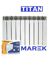 Биметаллический радиатор TITAN 500х96