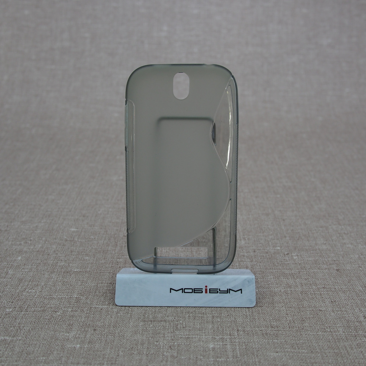 TPU Duotone HTC One SV grey Для телефона