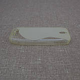 Чехол TPU Duotone HTC One SV soft-clear, фото 4