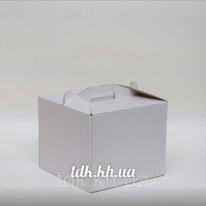 Коробка для торта 25х25х20