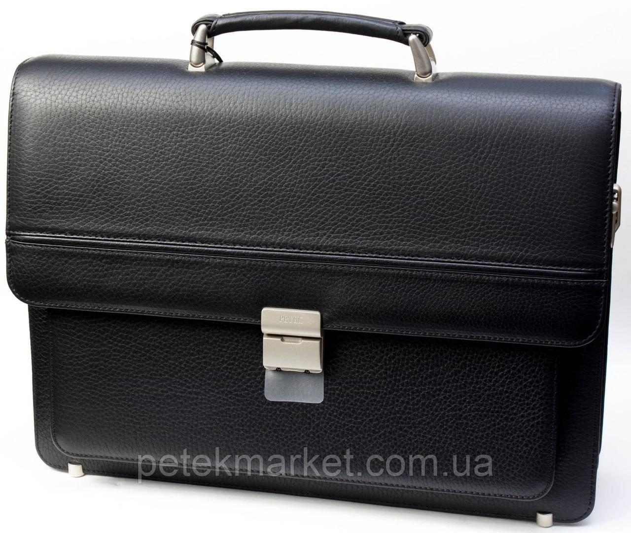 Портфель мужской PETEK 854 Черный (854-46B-01)