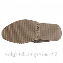 Зимние кроссовки Reebok мужские CL LTHR MID RIPPLE MU DV5110, фото 2