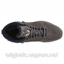 Зимние кроссовки Reebok мужские CL LTHR MID RIPPLE MU DV5110, фото 3