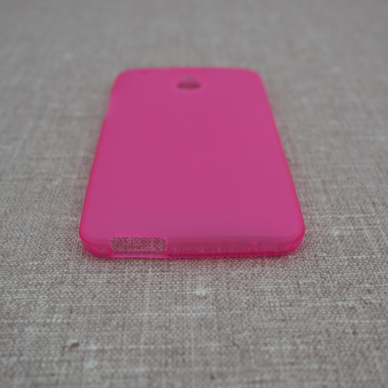 Чехол TPU HTC One mini M4 pink