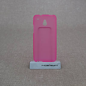 Чехол TPU HTC One mini/M4 pink, фото 2