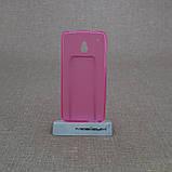 Чехол TPU HTC One mini/M4 pink, фото 2