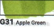 Маркер SKETCHMARKER долото-тонкое перо G031 Apple Green Зеленое яблоко