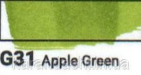 Маркер SKETCHMARKER долото-тонкое перо G031 Apple Green Зеленое яблоко, фото 2