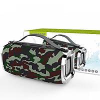 Беспроводная стерео колонка Hopestar H36 Mini Супер Басы камуфляж