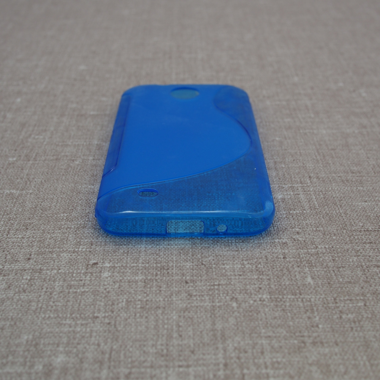 TPU Duotone HTC Desire 300 blue Для телефона