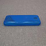Чехол TPU Duotone HTC Desire 300 blue, фото 4