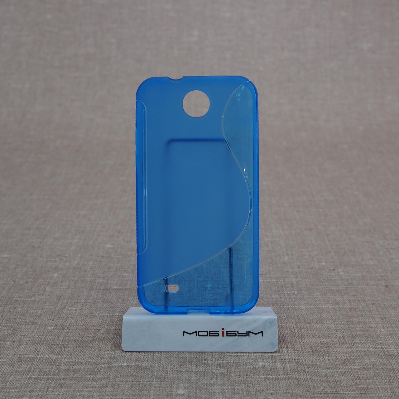 Чехол TPU Duotone HTC Desire 300 blue