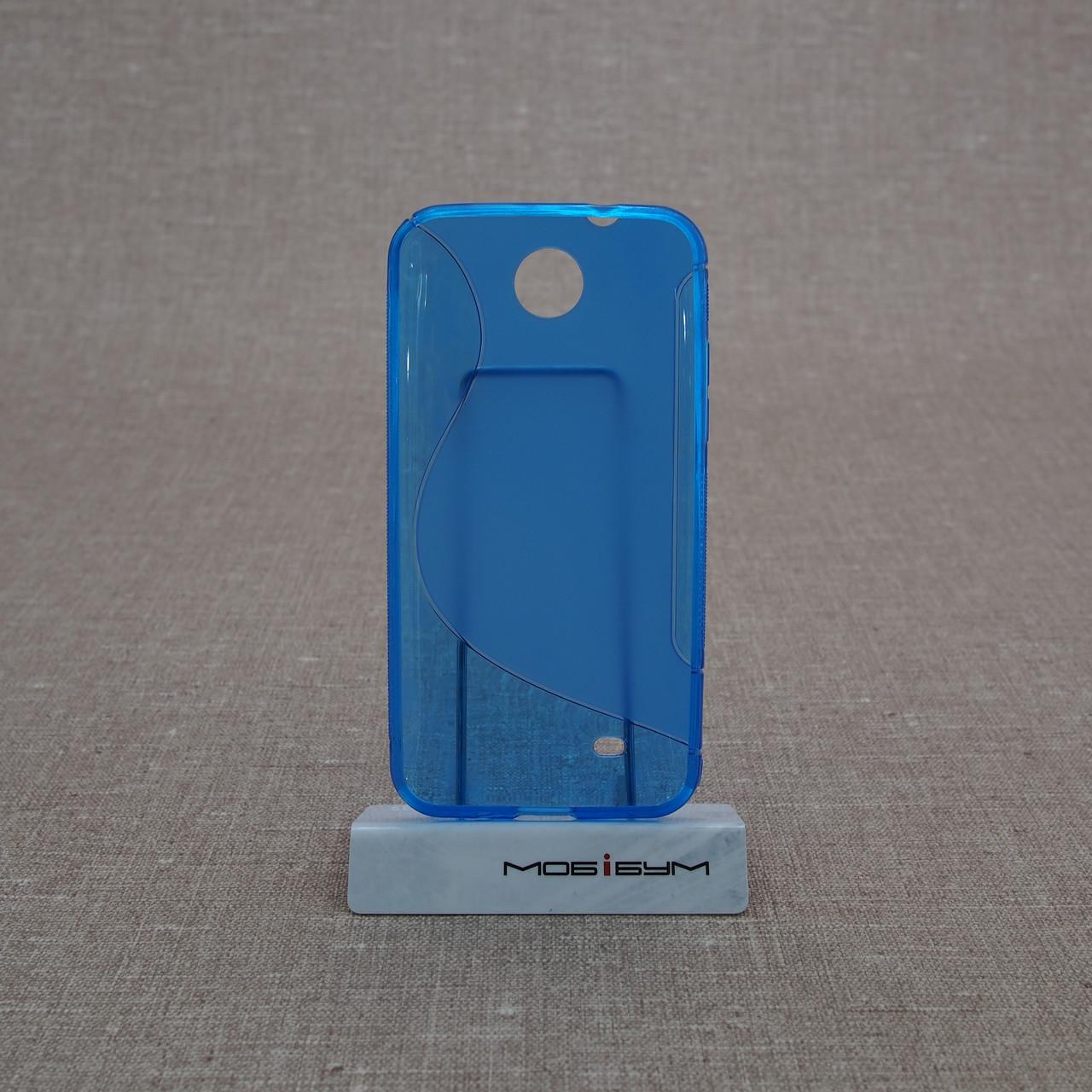TPU Duotone HTC Desire 300 blue