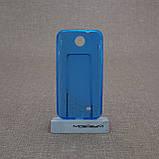 Чехол TPU Duotone HTC Desire 300 blue, фото 2