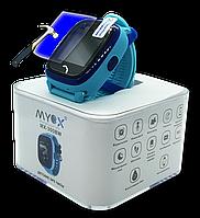 Детские водонепроницаемые GPS часы MYOX MX-300B голубые, фото 1