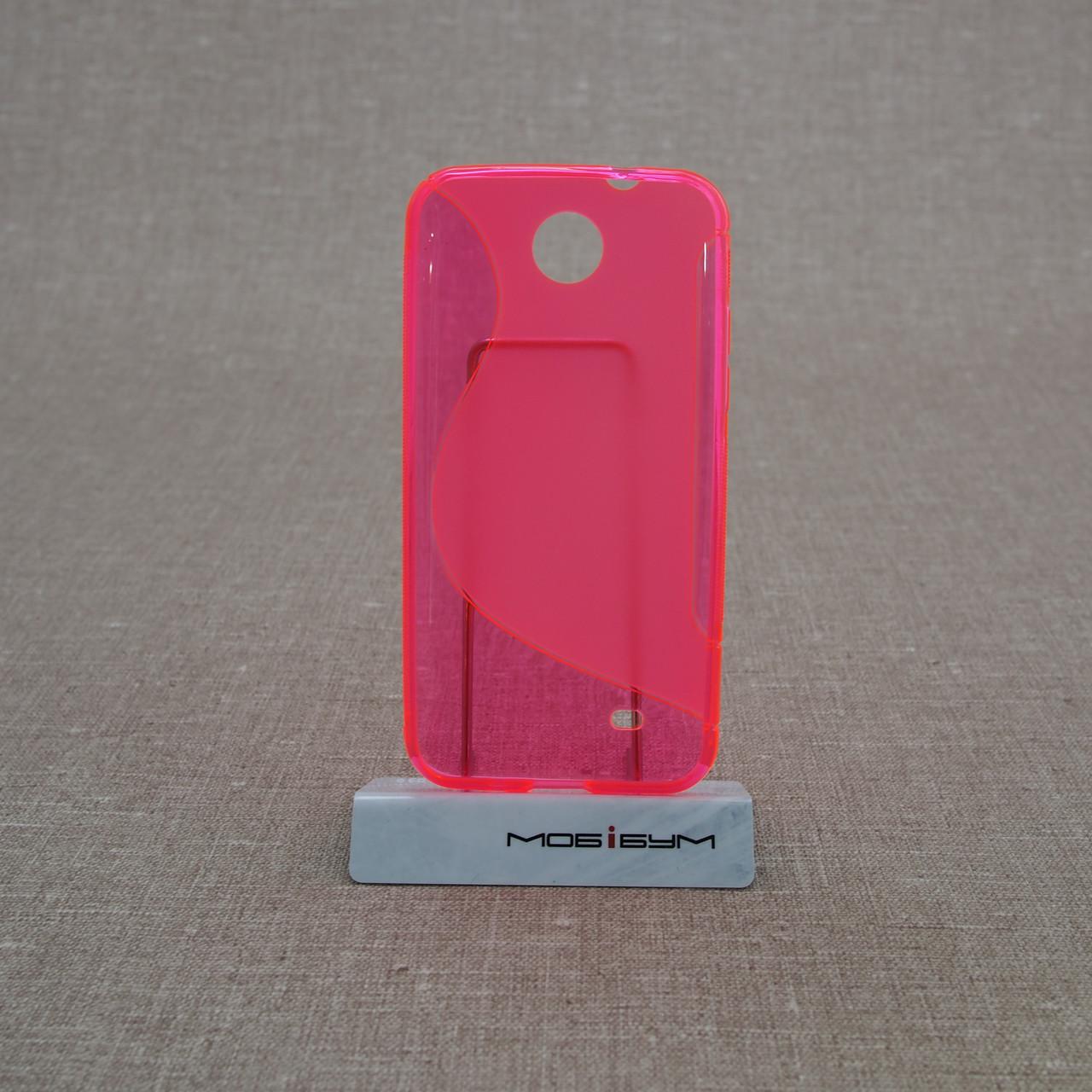Чехлы для других смартфонов TPU Duotone HTC Desire 300 pink Для телефона
