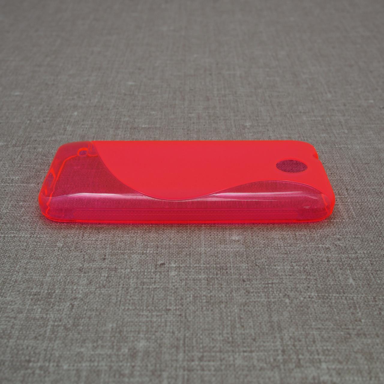 TPU Duotone HTC Desire 300 pink Для телефона