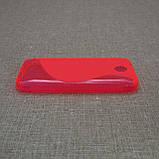 Чехол TPU Duotone HTC Desire 300 pink, фото 4