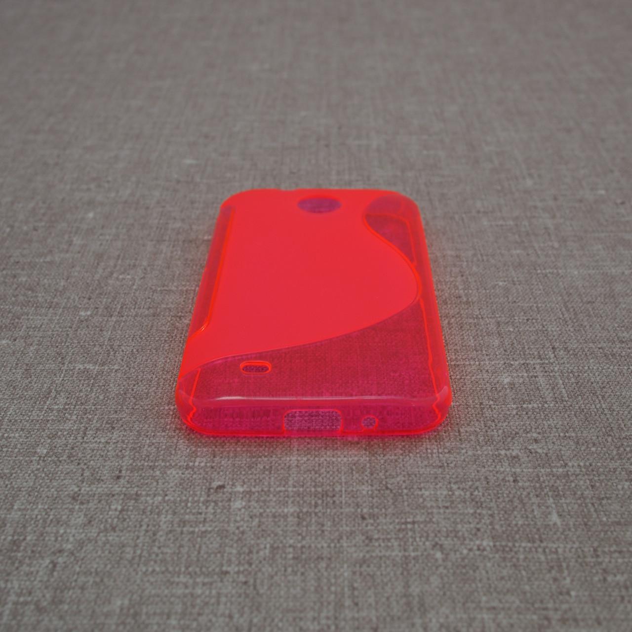 TPU Duotone HTC Desire 300 pink