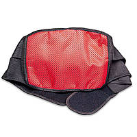 Турмалиновый согревающий пояс для спины Ziraki Lumbar brace NY-16 Чёрный, размер L