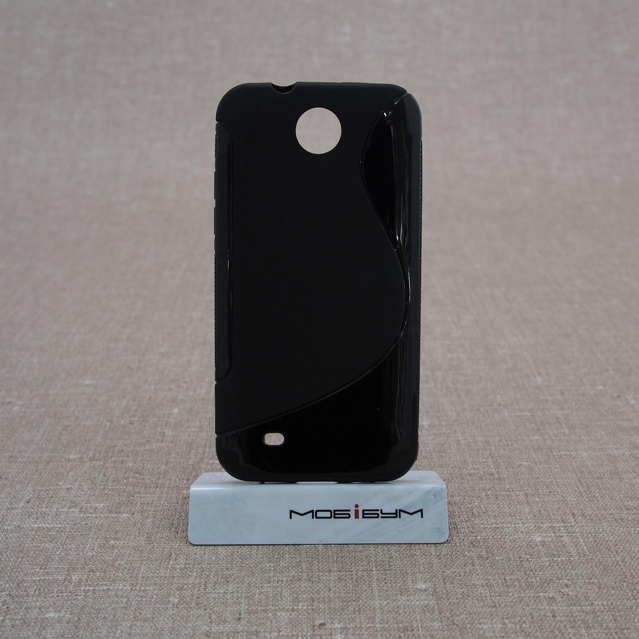 Чехол TPU Duotone HTC Desire 300 black