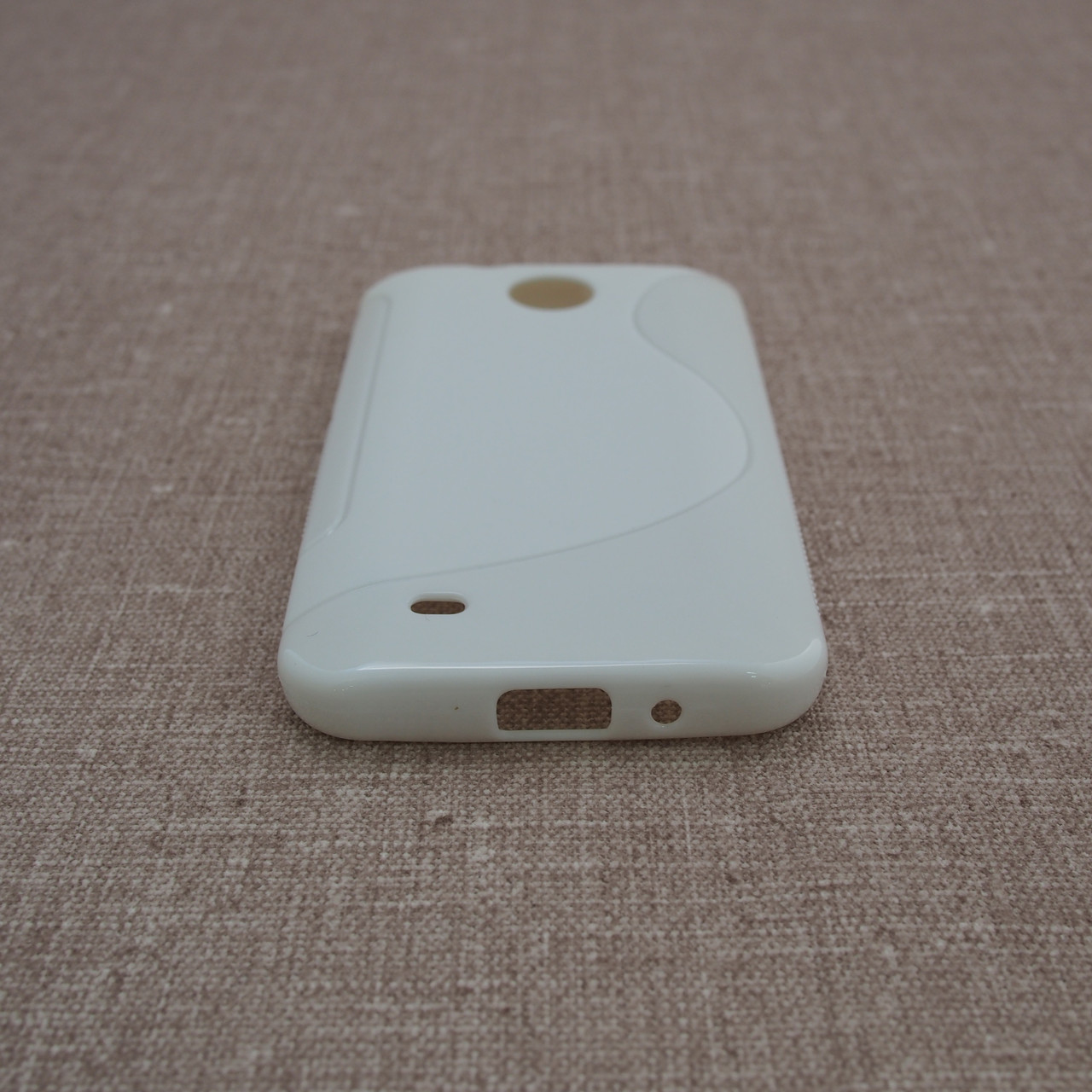 TPU Duotone HTC Desire 300 white Для телефона
