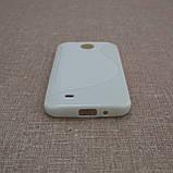 Чехол TPU Duotone HTC Desire 300 white, фото 3